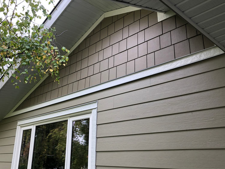 Fiber Cement Shake Siding Installation